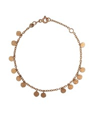 Kismet By Milka 14Kt Rose Gold Dangle Disc Bracelet