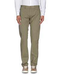 Seventy Trousers Casual Trousers Men Military Green