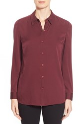 Women's Nordstrom Collection Stretch Silk Shirt