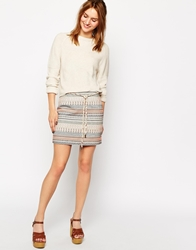 Sessun Mini Skirt In Aztec Tapestry Joy
