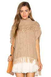 Ella Moss Lillyan Sweater Tan
