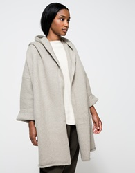 Lauren Manoogian Capote Coat In Cement