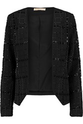 Michael Michael Kors Beaded Jersey Jacket Black