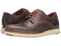 Cole Haan Original Grand Wing Oxford Sea Otter Leather Ivory Men's Lace Up Casual Shoes Brown