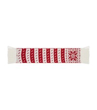 Claudie Pierlot Jacquard Knit Scarf Red
