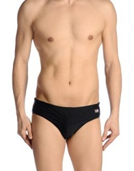 Mc2 Saint Barth Bikini Bottoms Black