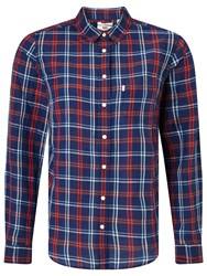 Levi's Classic One Pocket Shirt Medieval Blue