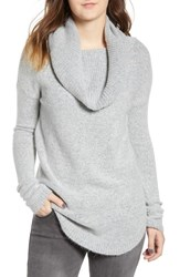 Dreamers By Debut Cowl Neck Tunic Heather Grey