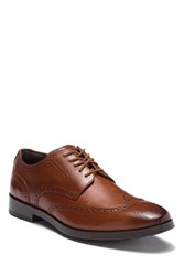 Cole Haan Jefferson Grand Wingtip Oxford Wide Width Available British Ta