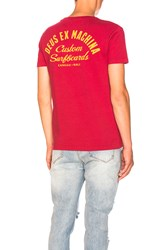 Deus Ex Machina Shelter Tee Red