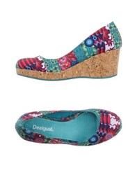 Desigual Footwear Courts Women Green