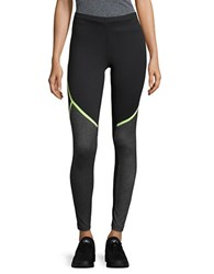 New Balance Fitted Performance Leggings Lime Glo