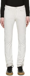 Paul Smith Off White Slim Fit Jeans