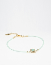 Orelia Stone Flower Friendship Bracelet Pacificopal