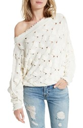 Free People Women's Desert Sands Cable Pullover