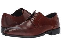 Kenneth Cole Reaction Witter Lace Up Cognac Shoes Tan