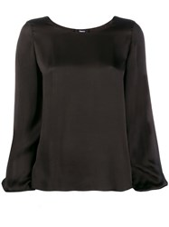 Theory Long Sleeved Top Black