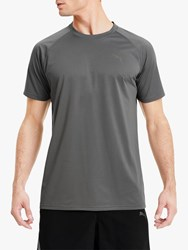 Puma Tech Short Sleeve Training Top Grey