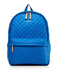 M Z Wallace Mz Metro Backpack Tahiti Blue Silver