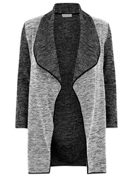 Windsmoor Textured Long Jacket Dark Grey