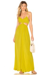 Indah Innocence Maxi Dress Yellow