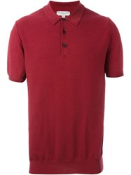 Melindagloss Classic Polo Shirt Red