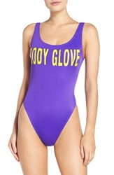 Body Glove Women's '1989 The Look' One Piece Swimsuit Goofy Grape