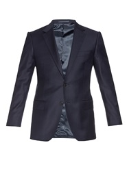 Gieves And Hawkes Single Breasted Wool Blazer
