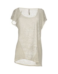 Emma And Gaia T Shirts Light Grey