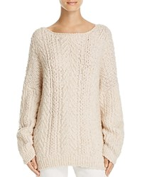 Vince Cable Knit Sweater Winter White