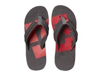 Dc Central Grey Red Men's Sandals Multi