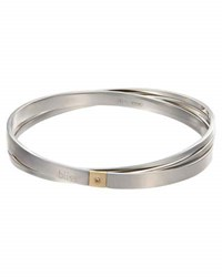 Bliss By Damiani Stainless Steel Twoyou Layered Bangle Bracelet