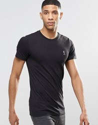 Religion Crew Neck T Shirt In Muscle Fit Black