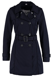 S.Oliver Trenchcoat Dark Blue