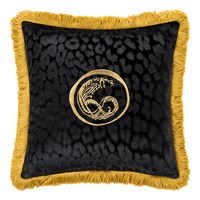 Roberto Cavalli Sigillo Cushion 40X40cm Black