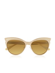 Vivienne Westwood Wing Shaped Sunglasses Pink Pink