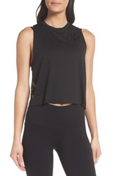 Ultracor Pop Star Racerback Tank Nero Patent Nero