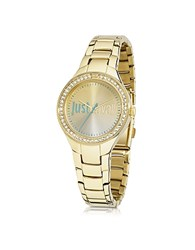 Just Cavalli Shade 3H Gold Tone Stainless Steel Women's Watch
