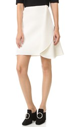 Dion Lee Circle Cape Skirt Ivory
