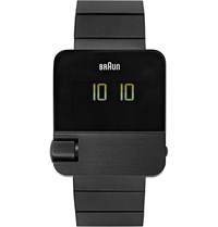 Braun Bn0106 Stainless Steel Watch Black