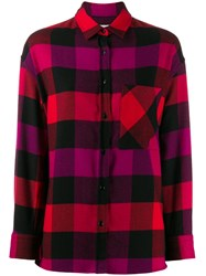 Woolrich Checked Print Shirt 60