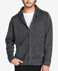 Denim And Supply Ralph Lauren Men's Herringbone Fleece Cardigan