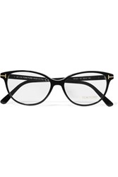 Tom Ford D Frame Acetate Optical Glasses Black