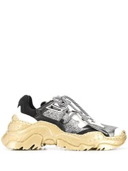 N 21 No21 Billy Sneakers Gold