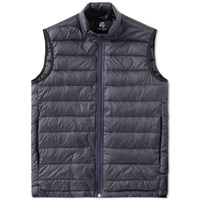 Paul Smith Logo Down Gilet Blue