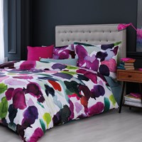 Bluebellgray Abstract Duvet Set Multi