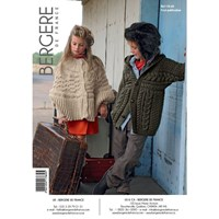 Bergere De France Sport Children's Poncho And Cardigan Knitting Pattern 17669