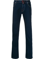Jacob Cohen Mid Rise Slim Fit Jeans Blue