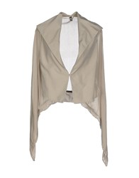 European Culture Suits And Jackets Blazers Women Beige