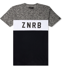 Zanerobe Grey Marle Bloc Tall T Shirt